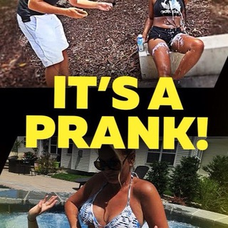 It's a prank