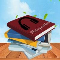 Shelving with books|Стеллаж с книгами|Аудиокниги