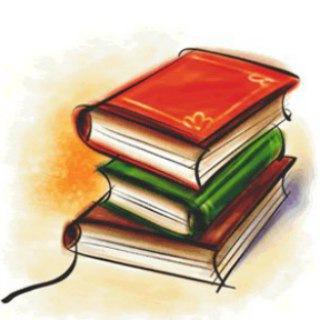 Книжный шкаф. Книги. Библиотека. Писатели.