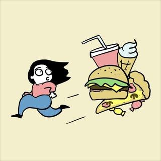 Бегу, ем, худею!